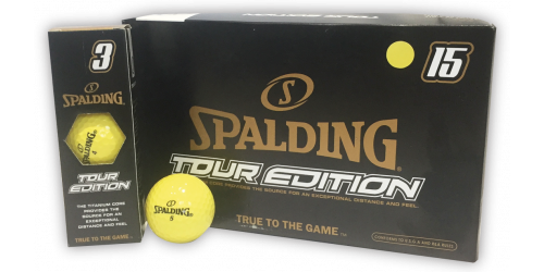 SPALDING TOUR EDITION x 15