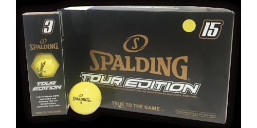 SPALDING TOUR EDITION x 15